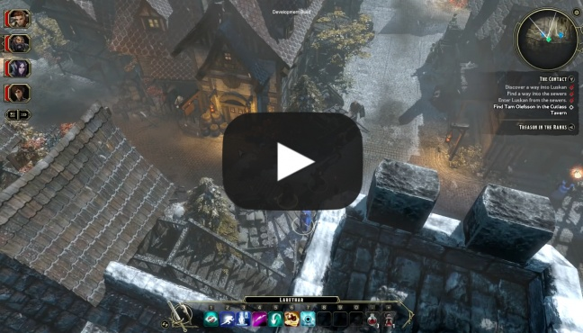 Gameplay Wideo - Kampania Sword Coast Legends