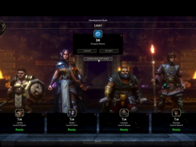 Gameplay Dungeon Crawl w Sword Coast Legends